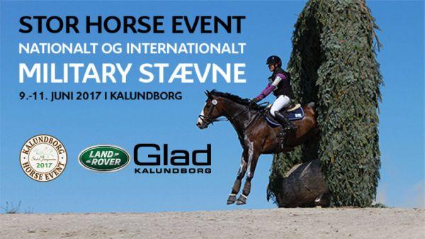 Besøg GLAD Kalundborg Ved Kalundborg Horse Event // 9. – 11. Juni