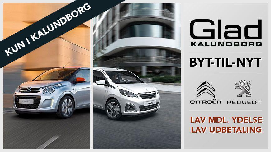 BYT-TIL-NYT* – Bliv Godt Kørende I En Helt Ny Peugeot Eller Citroën