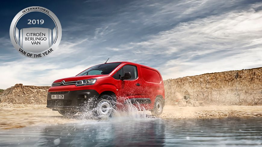 "Citroën Berlingo – En Ikonisk Vinder Af Titlen: ""International Van Of The Year"""
