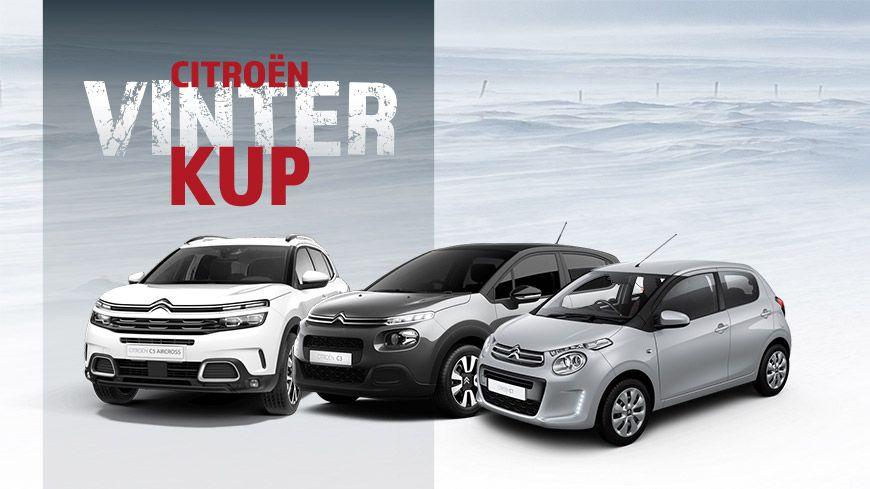 Citroën Vinterkup – Privatleasing Fra Kun 1.695,- Kr./md.