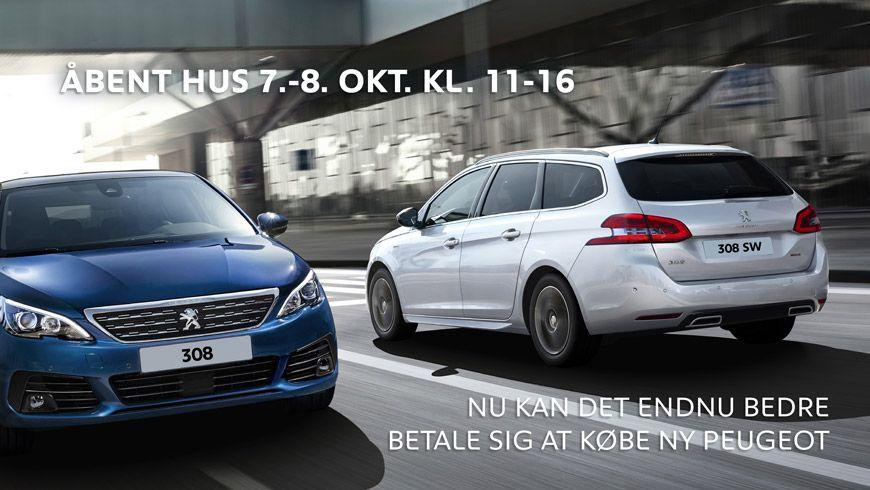 Danmarkspremiere På Ny Peugeot 308