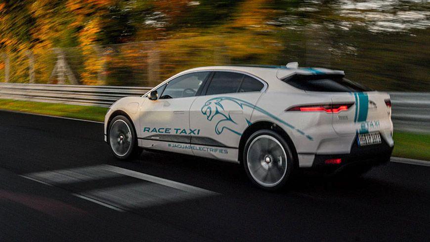 Jaguar I-PACE Bliver En Race Taxi