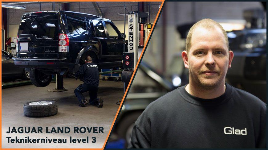 Jaguar Land Rover Tekniker Paa Allerhoejeste Niveau Glad Kalundborg