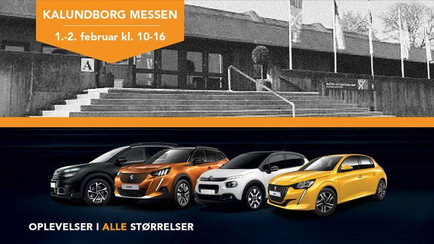 Besøg Kalundborg Messen I Weekenden Og Oplev De Topudstyrede Peugeot & Citroën Modeller – Se Bl.a. Den Helt Nye Peugeot 2008!