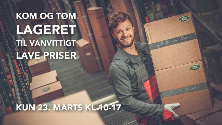 Kom Til Åbent Hus Og Stumpemarked // Det Største I Land Rover Historie! // 23. Marts Kl. 10-17