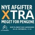Kom Til Citroën Åbent Hus I Weekenden 28.-29. Oktober Kl. 11-16