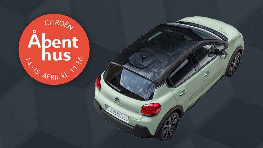 Kom Til Opgraderingsdage Og Åbent Hus Hos Citroën I Weekenden Kl. 11-16