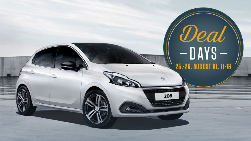 Kom Til Peugeot Deal Days Og Åbent Hus Den 25.-26. August
