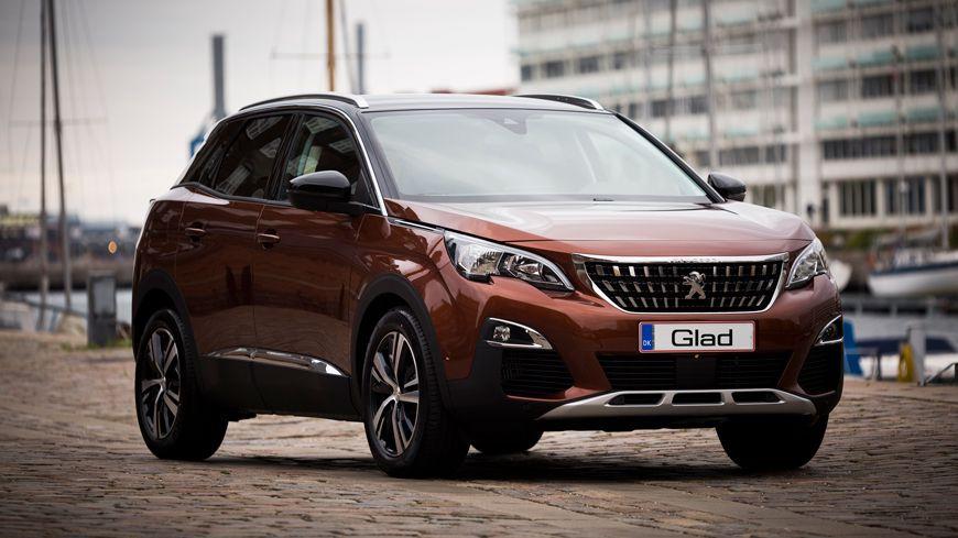 Ny Peugeot 3008 Suv Blaastemplet Med 5 Stjerner I Euroncap Glad Kalundborg