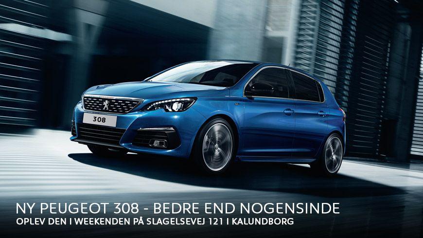 Ny Peugeot 308 – Bedre End Nogensinde // Kom Til Åbent Hus 28.-29. Oktober Kl. 11-16