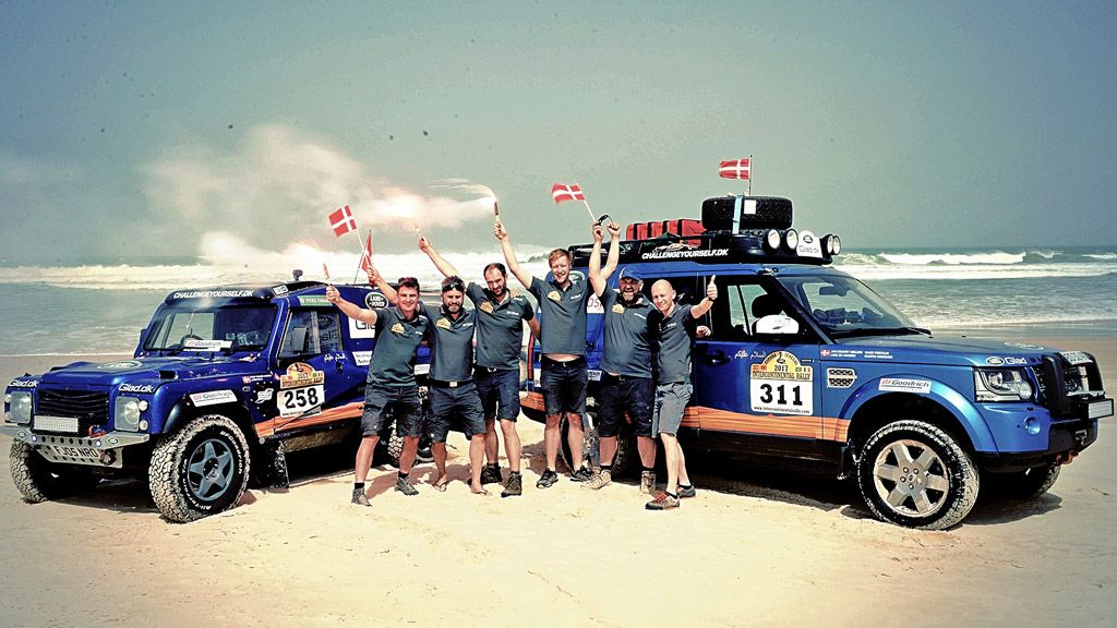 Ny Triumf For Team Glad I ørkenrallyet Til Dakar