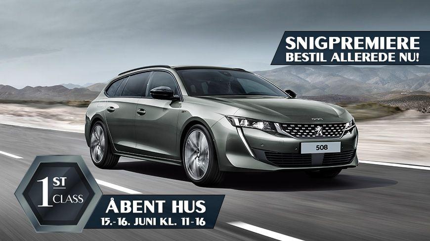 Oplev 1st Class Biler Til Peugeot Åbent Hus Den 15.-16. Juni Kl. 11-16