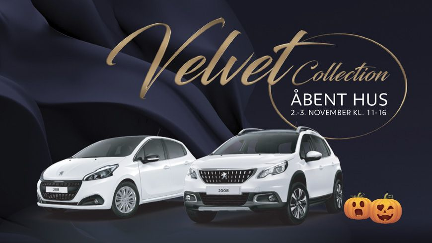 Oplev Peugeot Velvet Collection Til Åbent Hus Den 2.-3. November