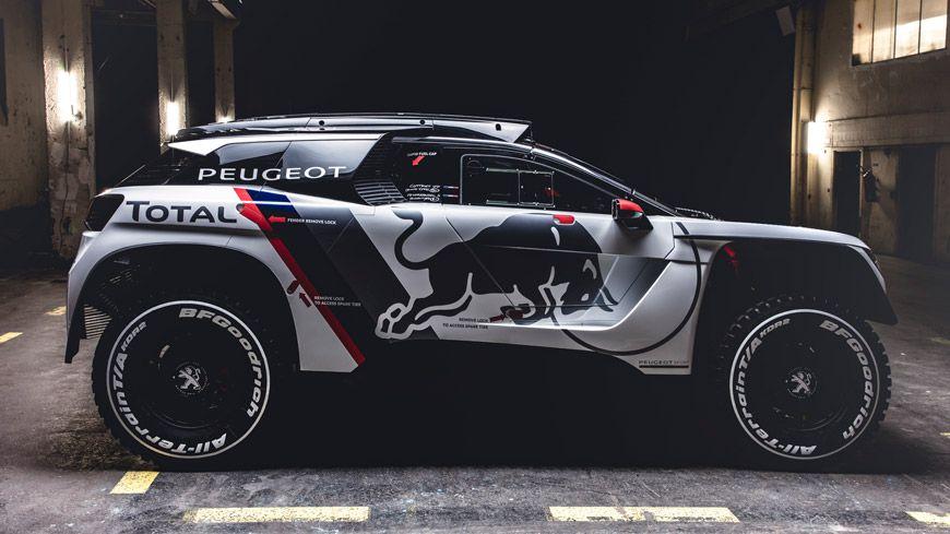 Peugeot 3008 Dkr Klar Til Dakar Glad Kalundborg