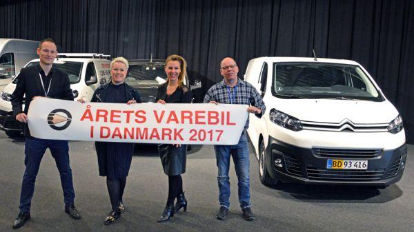 Peugeot Expert Kåret Som Årets Varebil I Danmark 2017