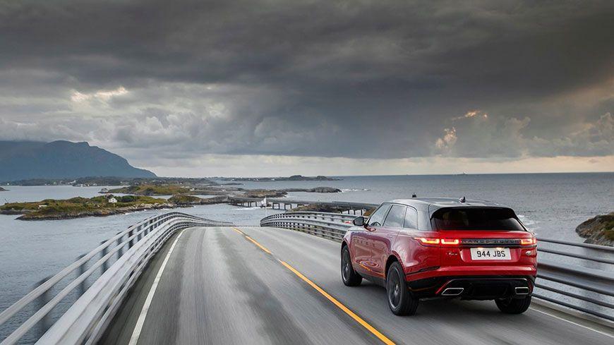 Range Rover Velar Verdens Smukkeste Bil 2018 Glad Kalundborg 10
