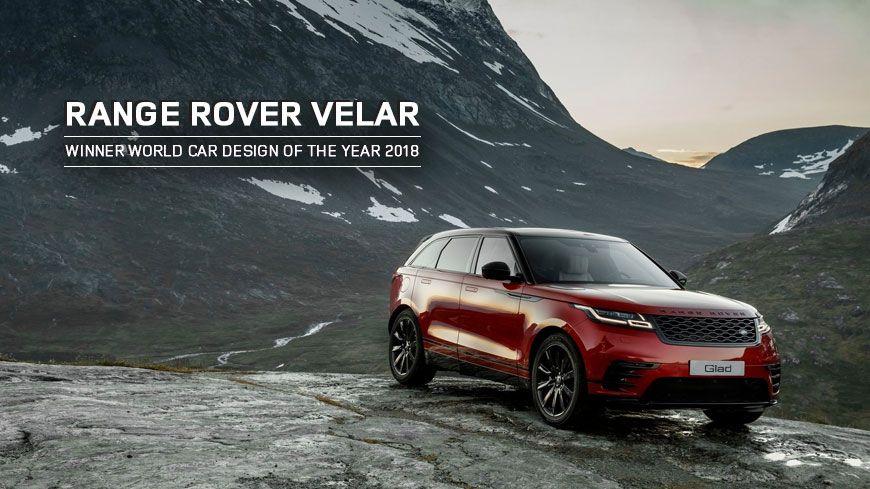 Range Rover Velar – Kåret Til Verdens Smukkeste Bil