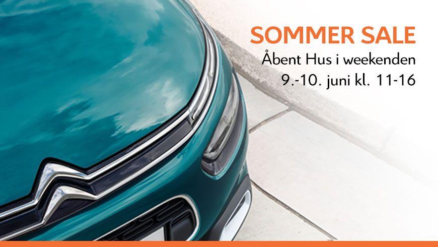 Solskin Og Sommersale I Weekenden // Åbent Hus 9.-10. Juni Kl. 11-16