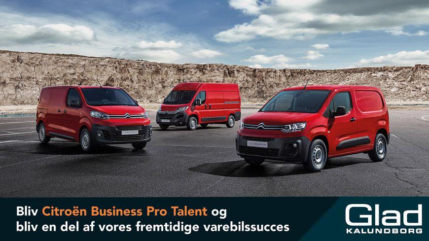 Bliv Citroën Business Pro Talent Og Bliv En Del Af Vores Fremtidige Varebilssucces