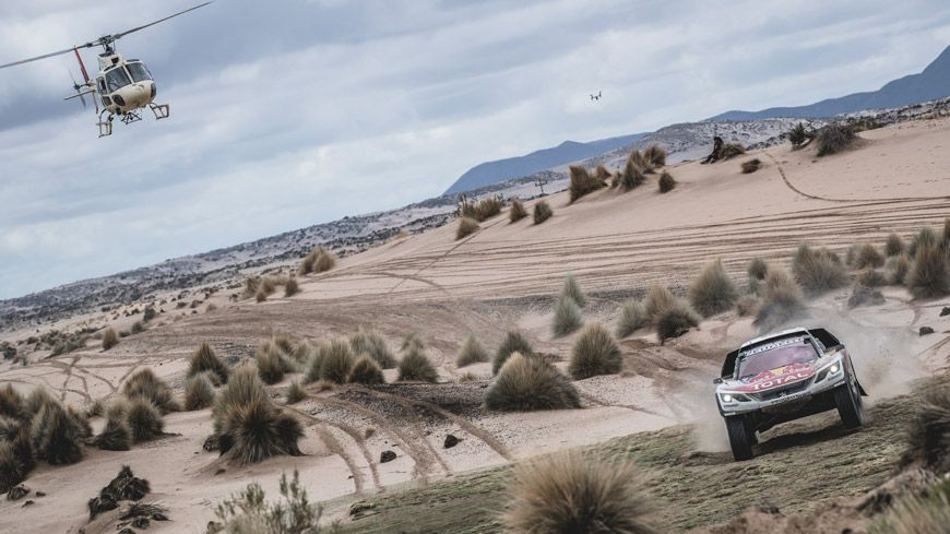 Triumf For PEUGEOT 3008 DKR I Dakar Rally 2017