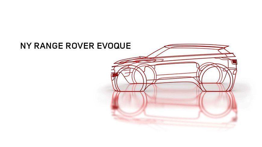 Vi Introducerer Den Helt Nye Range Rover Evoque